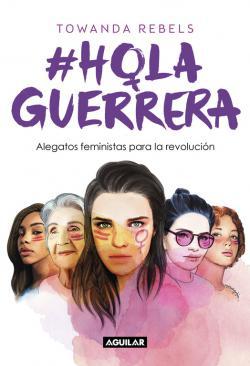 Portada del libro #HolaGuerrera
