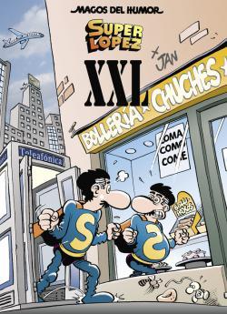 Portada del libro Superlópez XXL (Magos del Humor Superlópez 189)