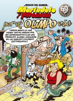 Portada del libro Por el Olimpo ese (Magos del Humor Mortadelo y Filemón 192)