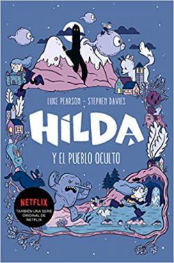 Portada del libro Hilda y el pueblo oculto