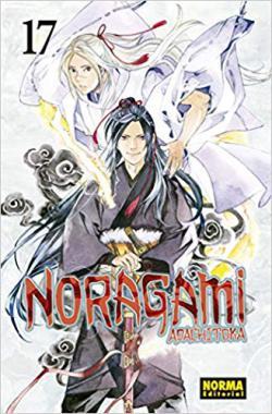 Portada del libro Noragami 17