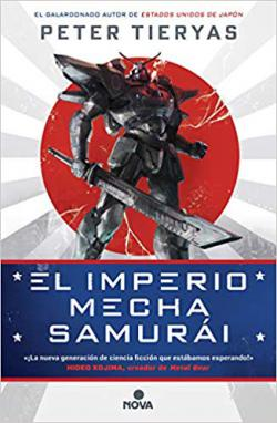 Portada del libro El imperio Mecha Samurái