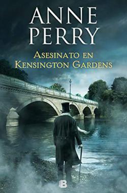 Portada del libro Asesinato en Kensington Gardens. Inspector Thomas Pitt 32