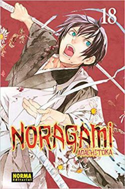 Portada del libro Noragami 18