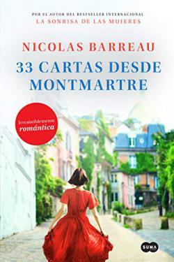 Portada del libro 33 cartas desde Montmartre