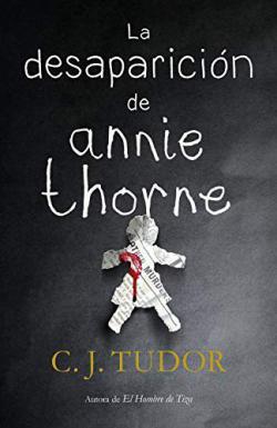 Portada del libro La desaparición de Annie Thorne