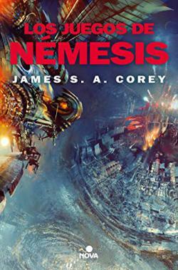 Portada del libro Los juegos de Nemesis (The Expanse 5)