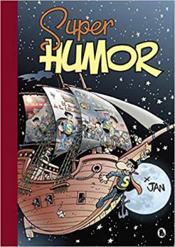 Portada del libro La isla de basura (Súper Humor Superlópez 21)