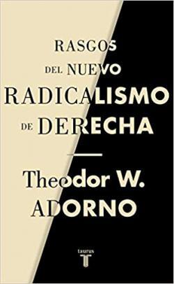 Portada del libro Rasgos del nuevo radicalismo de derecha