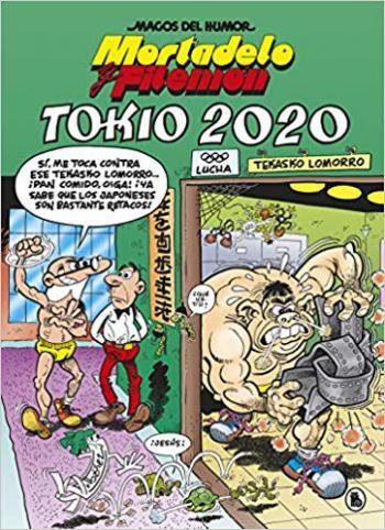 Portada del libro Tokio 2020 (Magos del Humor 204)