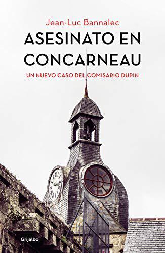 Portada del libro Asesinato en Concarneau (Comisario Dupin 8)