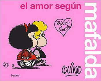 Portada del libro El amor según Mafalda