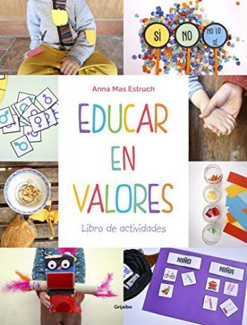 Portada del libro Educar en valores. Libro de actividades