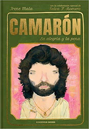 Portada del libro Camarón, la alegría y la pena