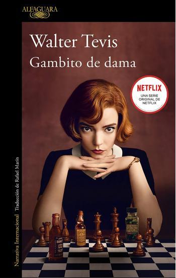 Portada del libro Gambito de dama