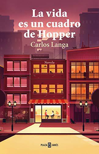 Portada del libro La vida es un cuadro de Hopper