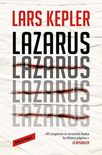Portada del libro Lazarus