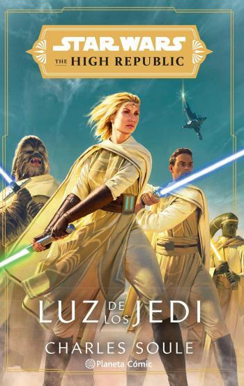 Portada del libro Star Wars The High Republic Luz de los Jedi